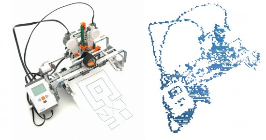 Lego Mindstorms Nxt 2 0 Drawing Robot Building