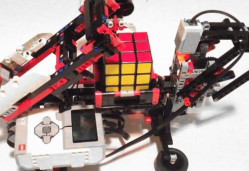 robot square solve a rubik 39 s cube with just one ev3 set robot square. Black Bedroom Furniture Sets. Home Design Ideas